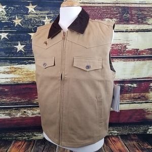 WYOMING TRADERS CODY CONCEALED CARRY CANVAS VEST